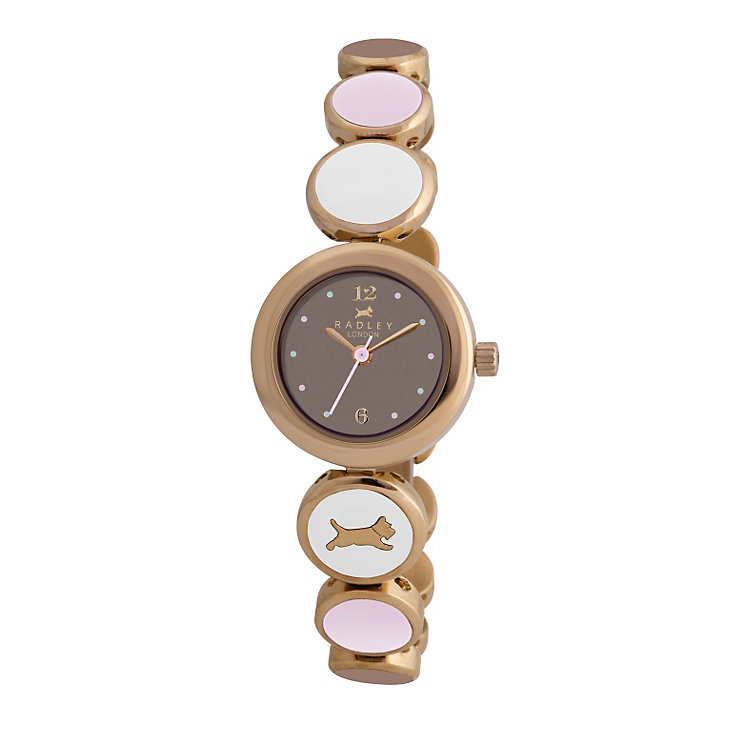 Radley ladies' colour linked bracelet watch - Product number 9322329