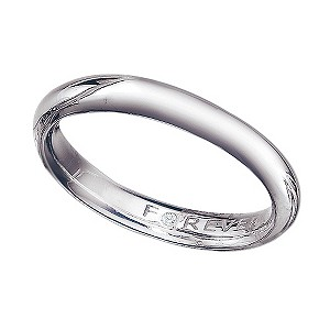 palladium 3mm forever wedding ring h samuel