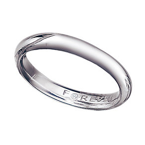 The Forever Diamond Palladium 3mm Wedding Ring - Product number 9323651