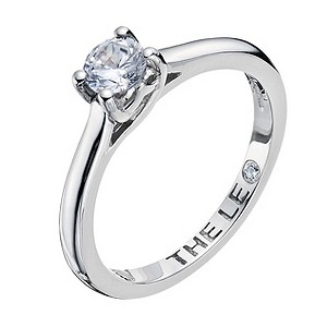 Leo Diamond platinum 0.40pt I-SI2 diamond solitaire ring - Product number 9325891