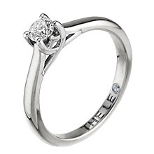 Leo Diamond 18ct white gold 0.25ct I-SI2 solitaire ring - Product number 9326162