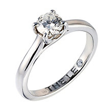 Leo Diamond 18ct white gold 0.66ct I-SI2 solitaire ring - Product number 9326545