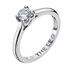 Leo Diamond 18ct white gold 0.40pt I-SI2 solitaire ring - Product number 9328025