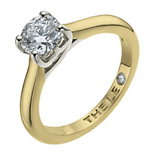 Leo Diamond 18ct yellow & white gold 0.88ct I-SI2 ring - Product number 9328688