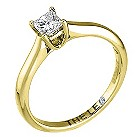 Leo 18ct yellow & white gold 1/4 carat I-SI2 diamond ring - Product number 9328815