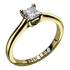 Leo 18ct yellow & white gold 1/2 carat I-SI2 diamond ring - Product number 9329080