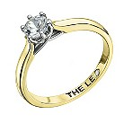 Leo Diamond 18ct yellow gold 0.66pt I-I1 solitaire ring - Product number 9329889