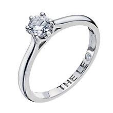 Leo Diamond platinum 0.40ct I-I1 solitaire ring - Product number 9330283