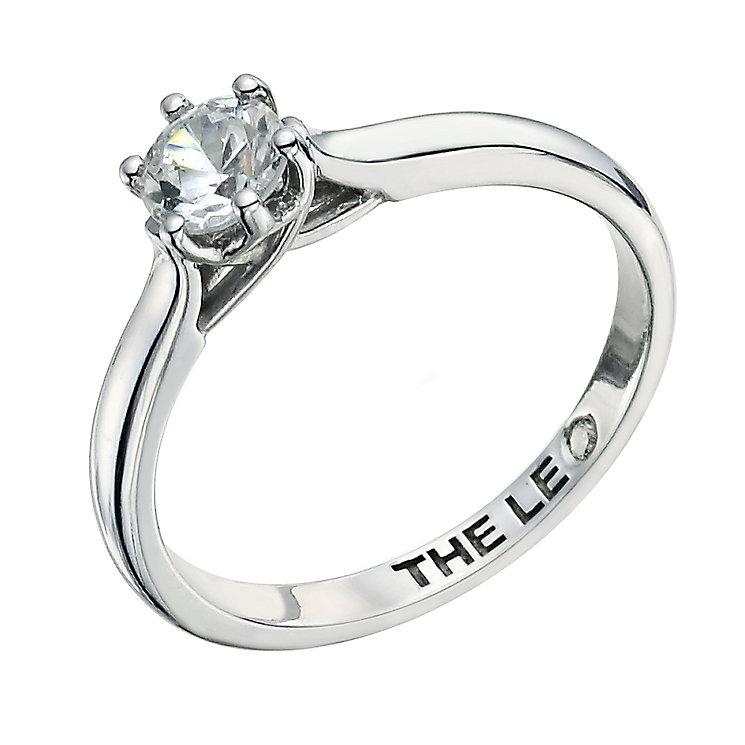 Leo Diamond platinum 0.50ct I-I1 diamond solitaire ring - Product number 9330410