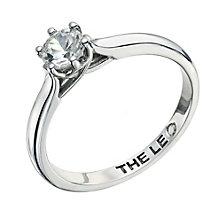 Leo Diamond platinum 0.50ct I-I1 solitaire ring - Product number 9330410