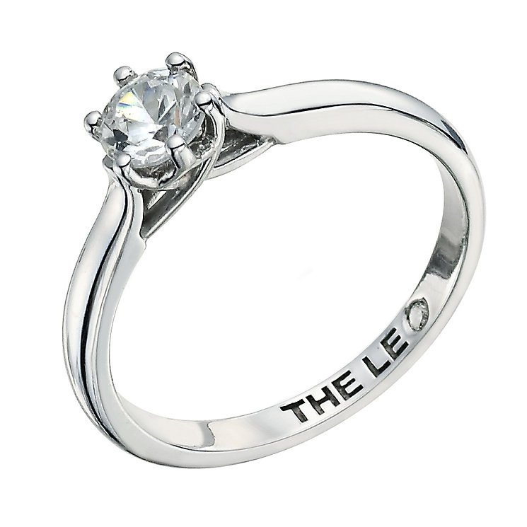Leo Diamond platinum 0.66ct I-I1 solitaire ring - Product number 9330550