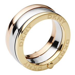 DKNY Organic Three Colour Rings - Product number 9332855