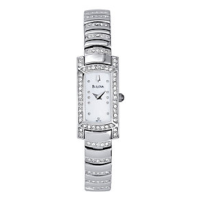 Bulova Ladies' Crystal Set Bracelet Watch - Product number 9332928