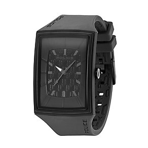 Police Vantage X Black Silicone Strap Watch - Product number 9335714