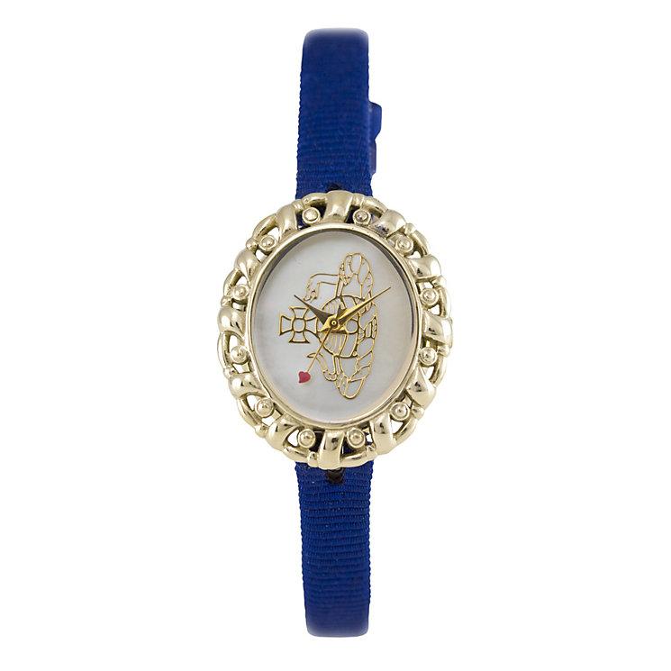Vivienne Westwood ladies' blue strap watch - Product number 9336214