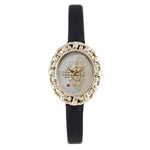 Vivienne Westwood ladies' black strap watch - Product number 9336222