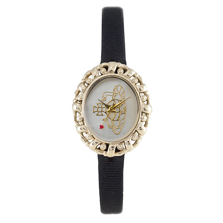Vivienne Westwood ladies' black strap watch - Product number 9336222