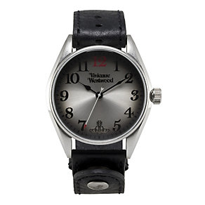 Vivienne Westwood men's black strap watch - Product number 9336303
