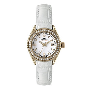 Rotary Aquaspeed Ladies' White Strap Watch - Product number 9336478