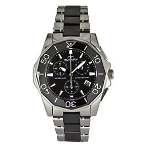 Rotary Aquaspeed Black Ceramic Bracelet Watch - Product number 9336508