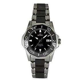 Rotary Aquaspeed Ladies' Black Ceramic Bracelet Watch - Product number 9336516
