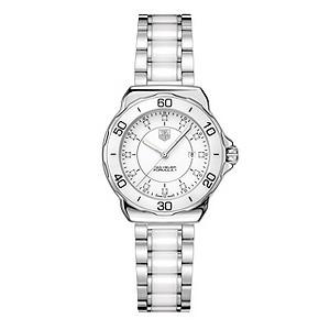 TAG Heuer F1 ladies' white ceramic bracelet watch - Product number 9337369