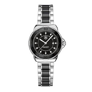 TAG Heuer F1 ladies' black ceramic bracelet watch - Product number 9337377