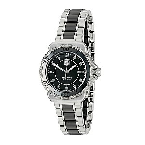 TAG Heuer F132 Ladies' Black Ceramic Bracelet Watch - Product number 9337393