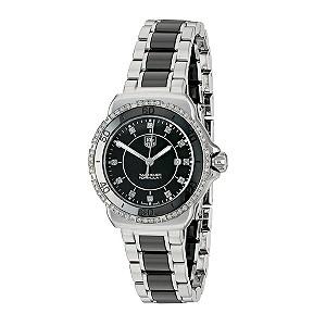 TAG Heuer F1 32mm Ladies' Black Ceramic Bracelet Watch - Product number 9337393