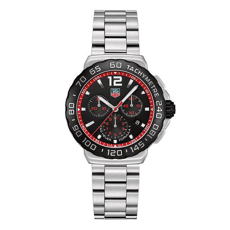 TAG Heuer F1 men's stainless steel bracelet watch - Product number 9338551