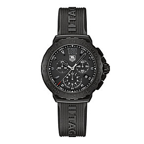 TAG Heuer F1 men's black ion plated strap  watch - Product number 9338888