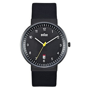 Braun men's black strap watch - Product number 9338977