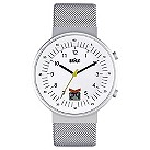 Braun men's stainless steel digital date watch - Product number 9339027