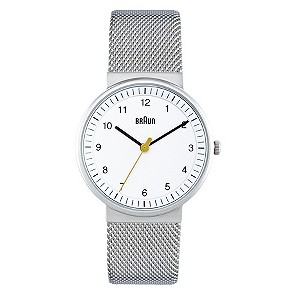 Braun ladies' stainless steel mesh bracelet watch - Product number 9339086