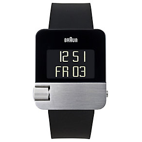 Braun men's black digital watch - Product number 9339167