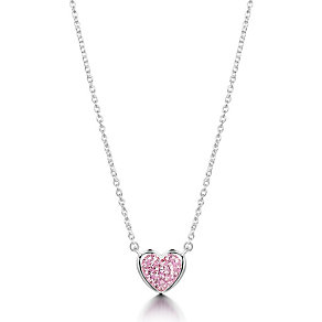 OSO Silver Pink Heart Pendant - Product number 9340262