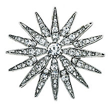 Crystal Starburst Brooch - Product number 9341366