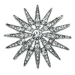 Crystal Starburst Brooch - Product number 9341366