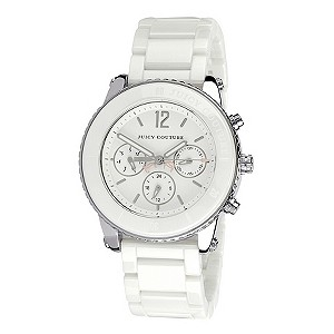 Juicy Couture ladies' white ceramic bracelet watch - Product number 9342036