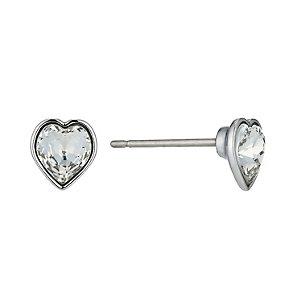 Swarovski Roslyn clear heart stud earrings - Product number 9342613