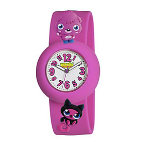 Moshi Monsters Poppet Pink Strap Watch - Product number 9343849