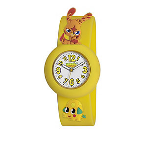 Moshi Monsters Katsuma Yellow Strap Watch - Product number 9343857