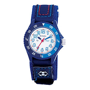 Tikkers Teach Blue Velcro Strap Watch - Product number 9343938
