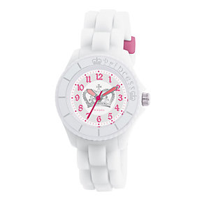 Tikkers Teach Princess White Silicone Watch - Product number 9343989