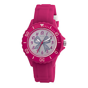 Tikkers Teach Pink Glitter Bow Watch - Product number 9344020