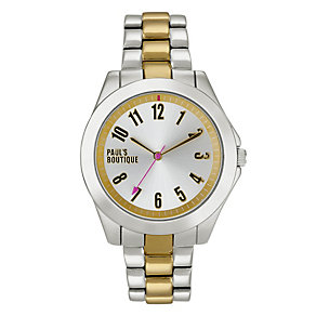 Online Only Paul's Boutique Agnes Ladies' Two Tone Watch - Product number 9344977