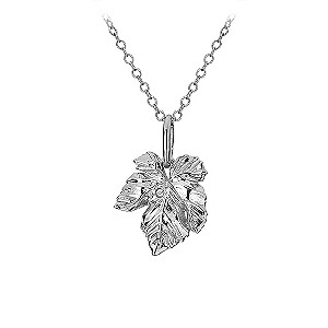 Hot Diamonds Silver & Diamond Leaf Pendant - Product number 9345329