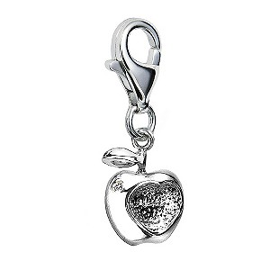 Hot Diamonds Silver & Diamond Apple Charm - Product number 9345353