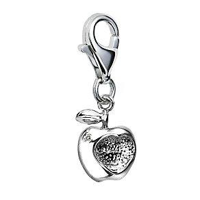Hot Diamonds Silver & Diamond Apple Charm - Product number 9345353