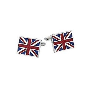 Men's Union Jack Cufflinks - Product number 9351280